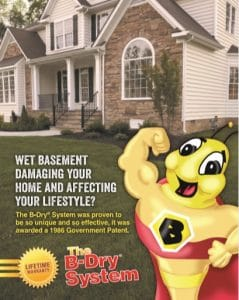 b-dry brochure